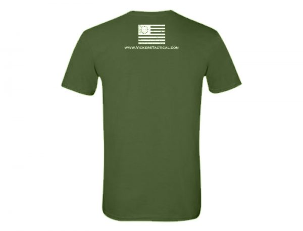 Vickers Tactical T-Shirt - Military Green
